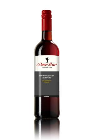 Glottertäler Eichberg Spätburgunder Rotwein Qualitätswein trocken