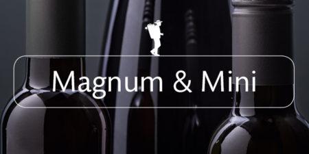 Magnum- und Miniflaschen