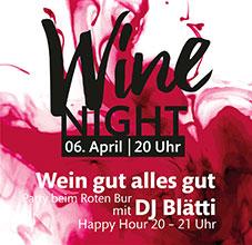 Wine Night 06-04-2018-Roter Bur Glottertäler Jungwinzer